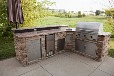 outdoor kitchens and barbecue islands in fort collins. outdoor bbq ...