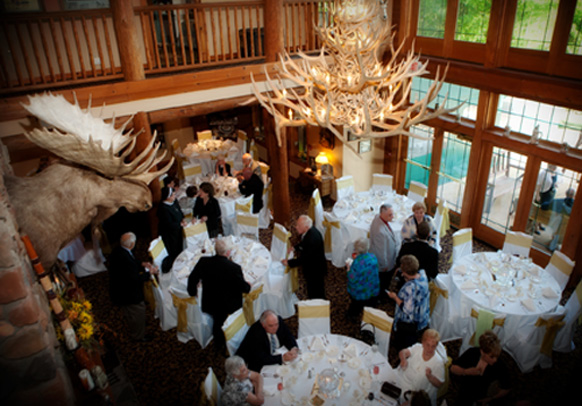 Lodge at Grant\'s Trail - Rehearsal Dinners, Weddings & Receptions